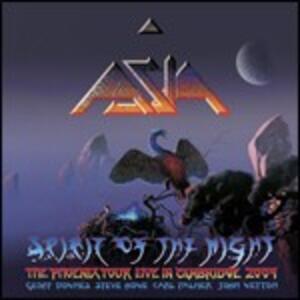 Spirit of the Night. Live in Cambridge 2009 - CD Audio di Asia