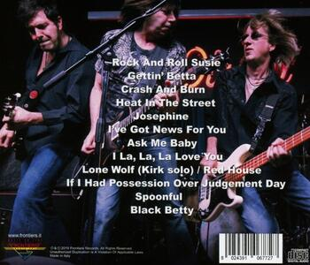 Live at the Irydium - CD Audio di Pat Travers (Band) - 2