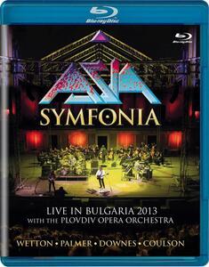 Asia. Symfonia. Live in Bulgaria 2013 (Blu-ray) - Blu-ray