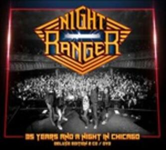 Night Ranger. 35 Years And A Night In Chicago - Blu-ray