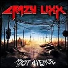 Riot Avenue (Blue Vinyl) - Vinile LP di Crazy Lixx