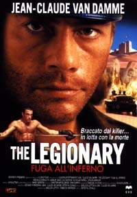 Locandina The Legionary - Fuga all'Inferno