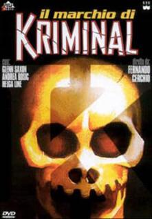 Il marchio di Kriminal di Fernando Cerchio - DVD