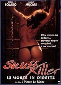 Locandina Snuff Killer. La morte in diretta