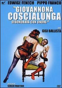 Giovannona Coscialunga disonorata con onore di Sergio Martino - DVD