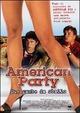 Cover Dvd DVD American Party. Due gambe da sballo