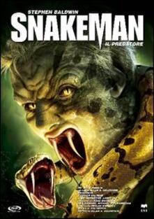 Snakeman. Il predatore di Allan A. Goldstein - DVD