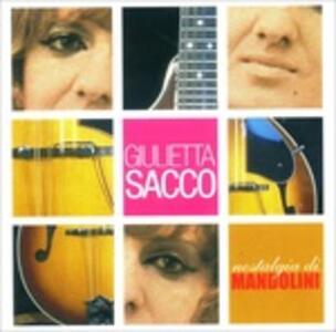 Nostalgia di Mandolini - CD Audio di Giulietta Sacco