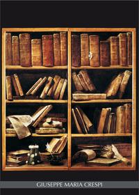 Notebook Crespi: Scaffale con libri