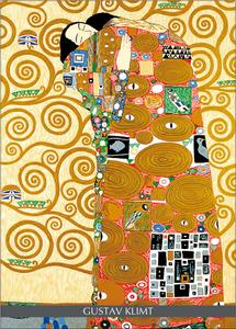 Cartoleria Notebook Klimt: L'abbraccio Cartilia