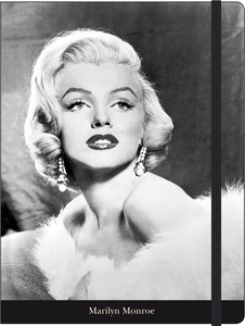 Cartoleria Notebook con elastico Marilyn Monroe Cartilia