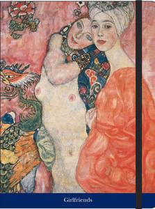 Cartoleria Notebook con elastico Klimt: Girlfriends Cartilia