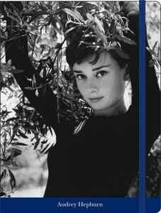 Cartoleria Notebook con elastico Audrey Hepburn Cartilia