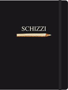 Cartoleria Notebook con elastico Schizzi Cartilia