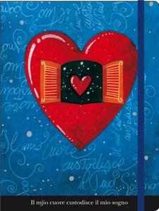 Cartoleria Notebook con elastico Agostini: Il mio cuore Cartilia
