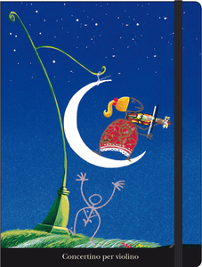 Cartoleria Notebook con elastico Meloniski: Concertino Cartilia