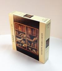 Puzzle Crespi. Scaffale con libri di musica
