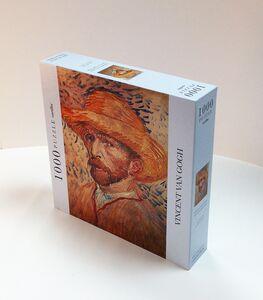 Giocattolo Puzzle Van Gogh: Autoritratto con cappello di paglia Cartilia