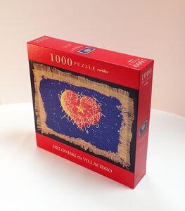 Giocattolo Puzzle Meloniski. Cuore cosmico Cartilia