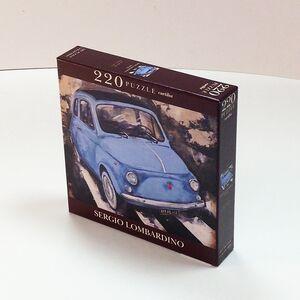 Giocattolo Puzzle Lombardino. 500 Blu Cartilia