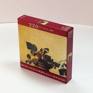 Giocattolo Puzzle Caravaggio. Canestra di frutta Cartilia
