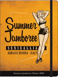 Cartoleria Notebook con elastico Di Liberto: Summer Jamboree Cartilia