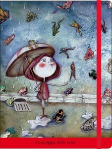 Cartoleria Notebook con elastico Fusi: La pioggia delle rane Cartilia