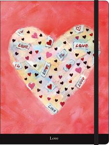 Cartoleria Notebook con elastico Sophie Jordan: Love Cartilia