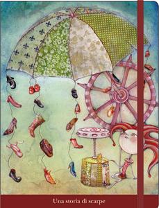 Cartoleria Notebook con elastico Fusi: Una storia di scarpe Cartilia