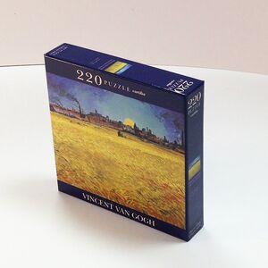 Giocattolo Puzzle Van Gogh: Campo di grano al tramonto Cartilia