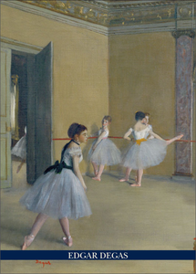 Cartoleria Notebook Degas: Ballet studio Cartilia