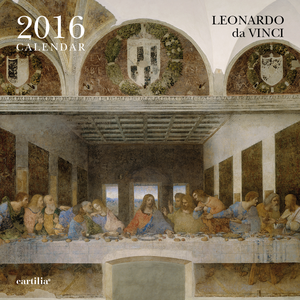 Cartoleria Calendario da parete 30x30 2016: Leonardo Cartilia