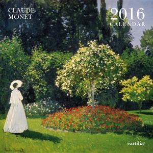 Cartoleria Calendario da parete 30x30 2016: Monet Cartilia