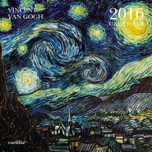 Cartoleria Calendario da parete 30x30 2016: Van Gogh Cartilia