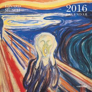 Cartoleria Calendario da parete 30x30 2016: Munch Cartilia