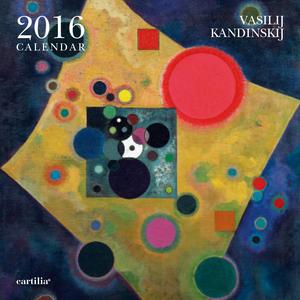 Cartoleria Calendario da parete 30x30 2016: Kandinskij Cartilia