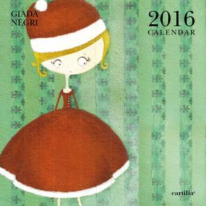 Cartoleria Calendario da parete 30x30 2016: Negri Cartilia