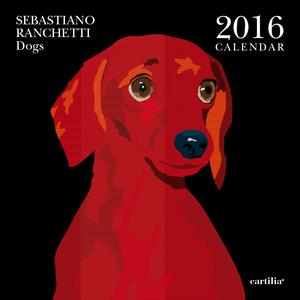 Cartoleria Calendario da parete 30x30 2016: Ranchetti Dogs Cartilia