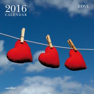 Cartoleria Calendario da parete 30x30 2016: Love Cartilia