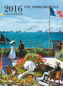 Cartoleria Calendario da parete 24x33 2016: The Impressionists Cartilia