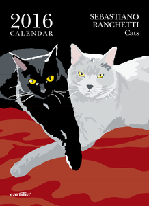 Cartoleria Calendario da parete 24x33 2016: Ranchetti cats Cartilia