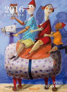 Cartoleria Calendario da parete 24x33 2016: Procopio Cartilia