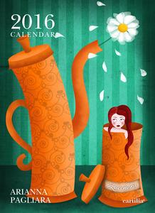 Cartoleria Calendario da parete 24x33 2016: Pagliara Cartilia