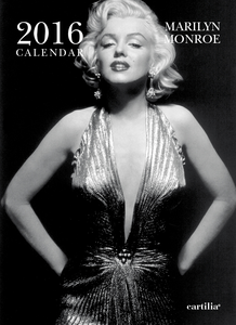 Cartoleria Calendario da parete 24x33 2016: Monroe Cartilia