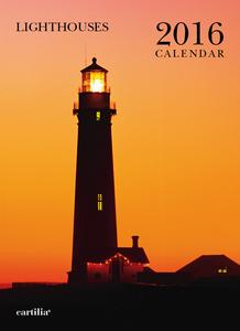 Cartoleria Calendario da parete 24x33 2016: Lighthouses Cartilia