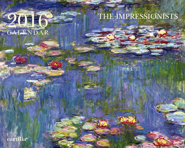 Cartoleria Calendario da tavolo 20x16 2016: The Impressionists Cartilia