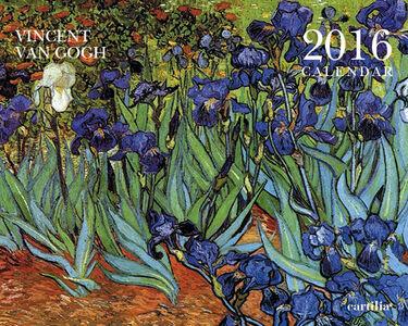 Cartoleria Calendario da tavolo 20x16 2016: Van Gogh Cartilia