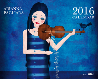 Cartoleria Calendario da tavolo 20x16 2016: Pagliara Cartilia