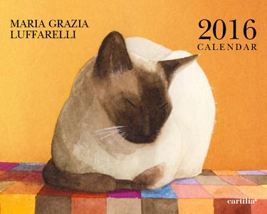 Cartoleria Calendario da tavolo 20x16 2016: Luffarelli Cartilia
