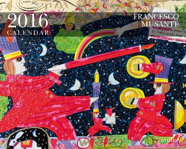 Cartoleria Calendario da tavolo 20x16 2016: Musante Cartilia